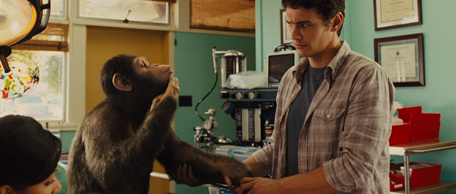 El Planeta de los Simios: (R)Evolución (2011) BRRip 1080p Latino - Ingles captura 1