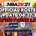 NBA 2K21 OFFICIAL ROSTER UPDATE 06.27.21 AFTER PATCH 1.12