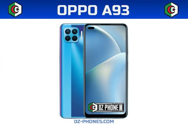 Oppo A93 السعر و المواصفات في الجزائر Oppo A93 Prix Algérie