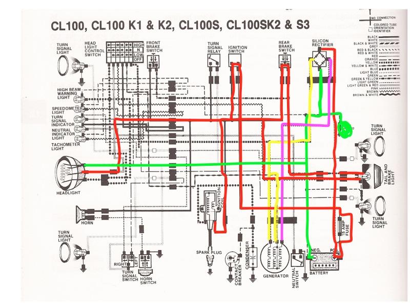 ct110 wiring diagram ct110 image wiring diagram 1978 honda express wiring diagrams honda get image about on ct110 wiring diagram