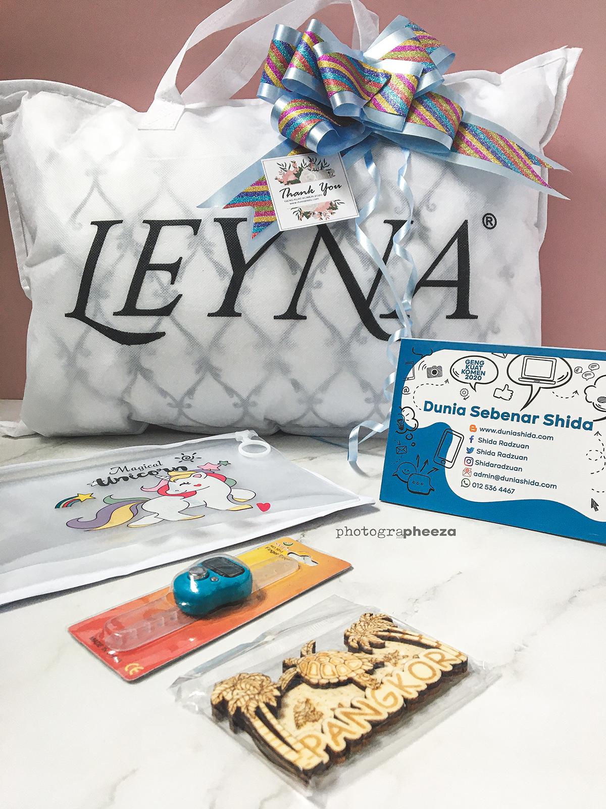 Hadiah dari Blogger Shida