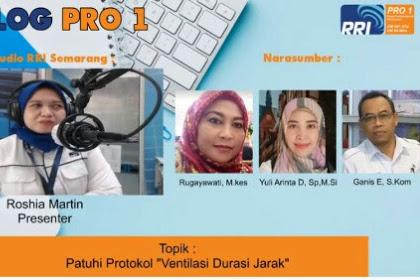 Kentongan Covid Semarang RRI Semarang:  Edukasi Psikososial PMI sebagai pendekatan yang menggabungkan self love dan support system