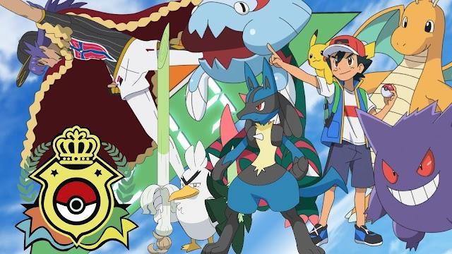 10. Especial Batallas de Ash en el Campeonato Mundial Pokémon