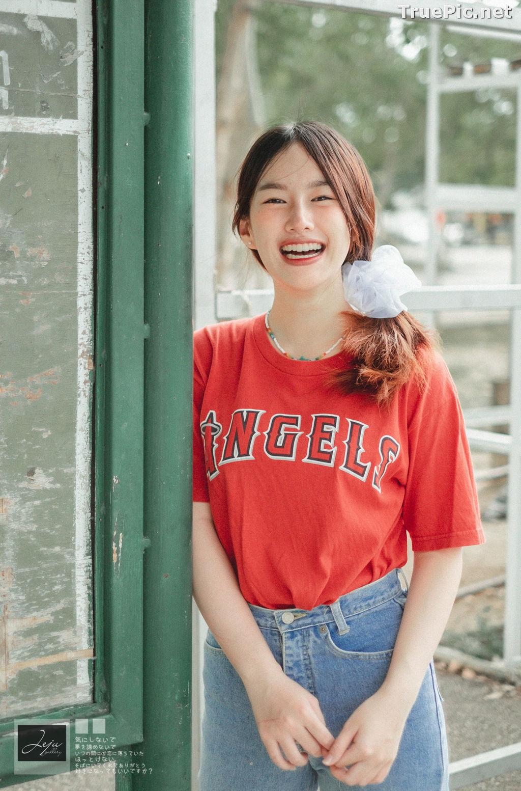 Image Thailand Cute Model - Fahfab Thunchanok - Red Angels - TruePic.net - Picture-3