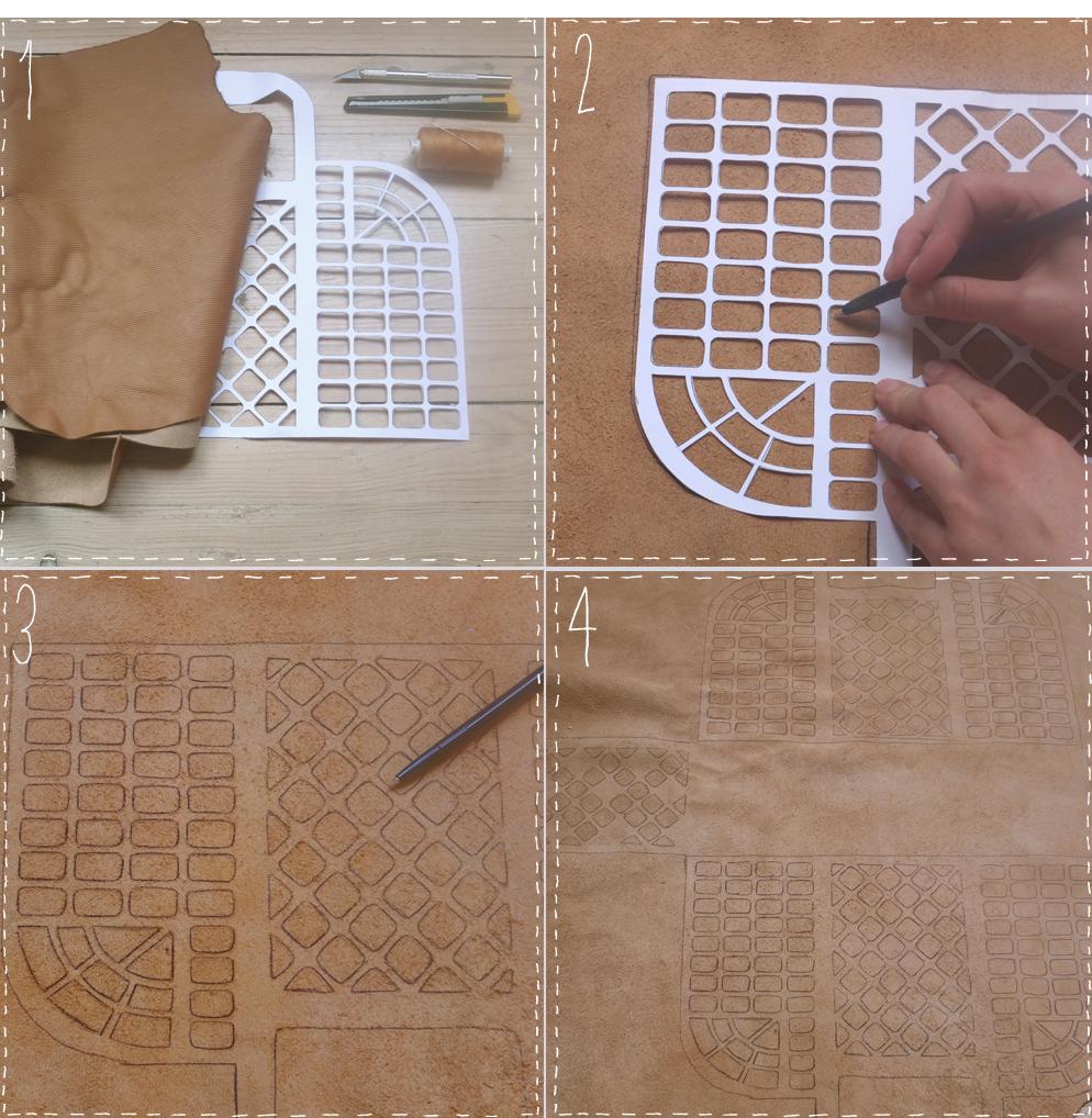 bolso, costura, patronaje, Louis Vuitton, imitacion bolso