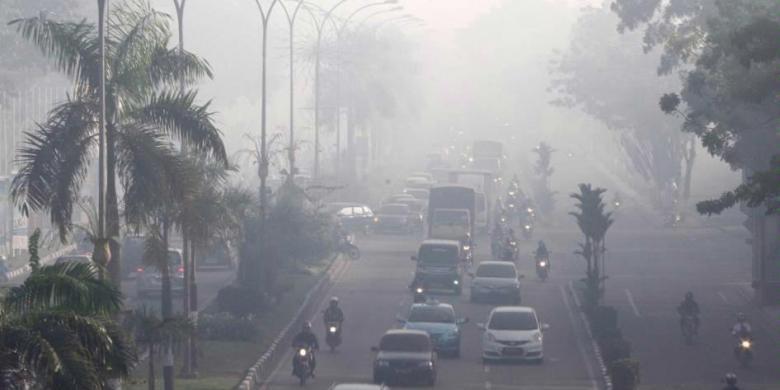Status Udara Di Dumai, Kampar, Siak, Bengkalis, Rokanhilir Berbahaya