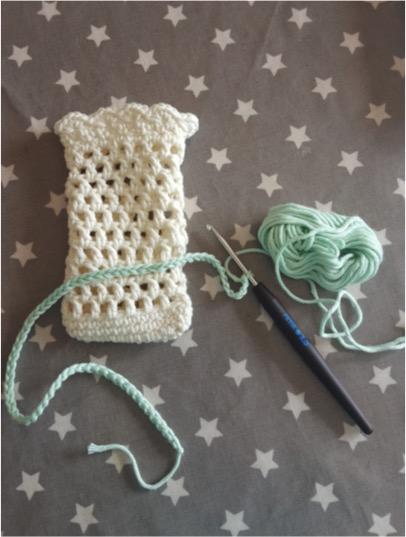 DYI Soap Saver/Small Mesh Bag - free crochet pattern