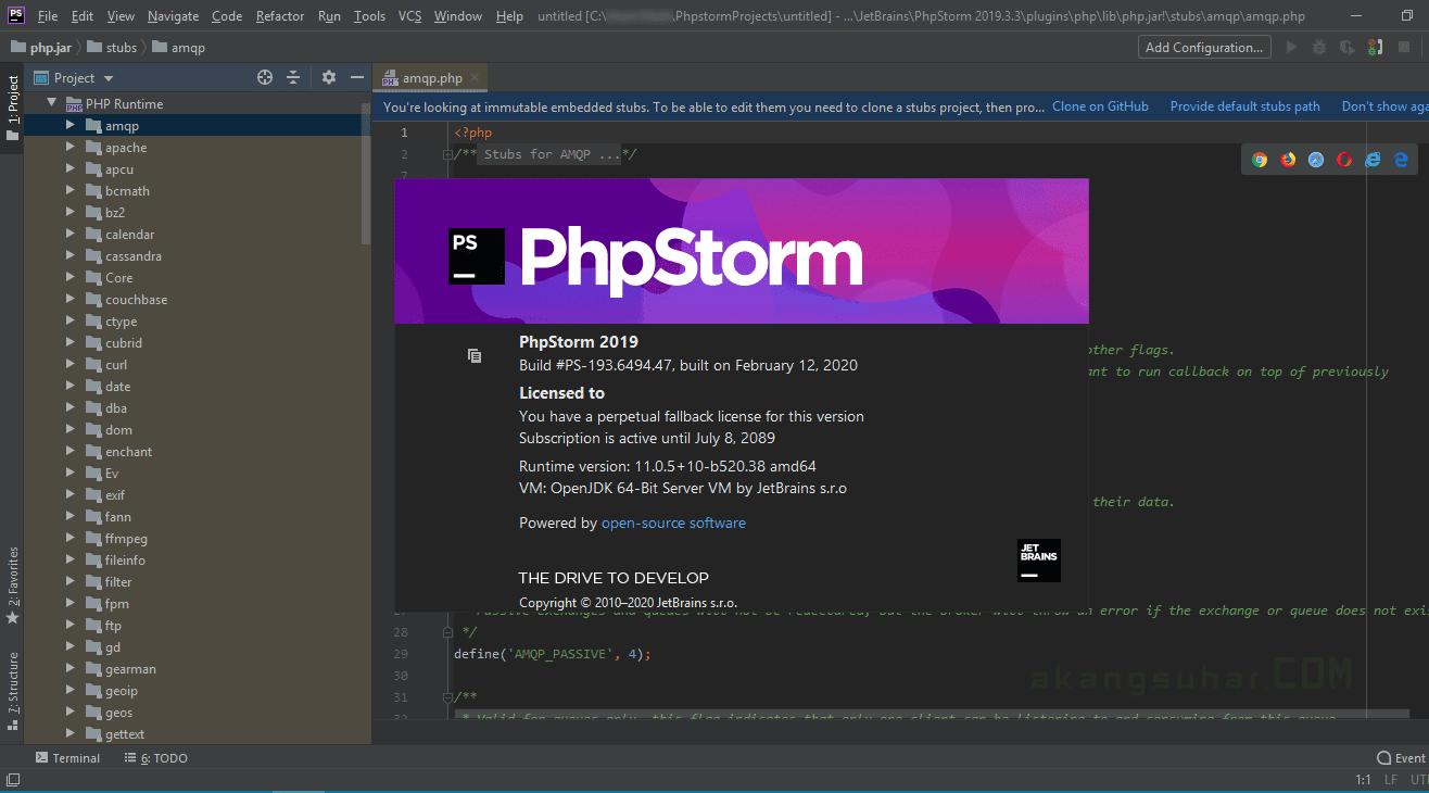 Gratis Download JetBrains PhpStorm Full Crack Terbaru