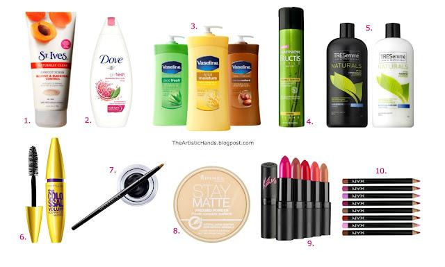 715fa6f09 My Top 10 Favorite Drugstore Products! أكثر ١٠ منتجات مفضلة عندي من  الصيدلية! | The Artistic Hands | Bloglovin'