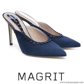 Queen Letizia wore Magrit Christina Shoes