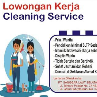 Lowongan Kerja Cleaning Service di Honda Sanggar Laut Selatan Group