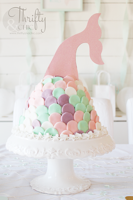 DIY mermaid birthday party and decorating ideas. DIY under the sea birthday party and decorating ideas. DIY mermaid birthday cake tutorial, mermaid tail cake.