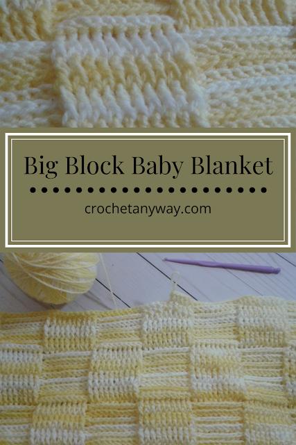 a new version of basket weave stitch -crochet