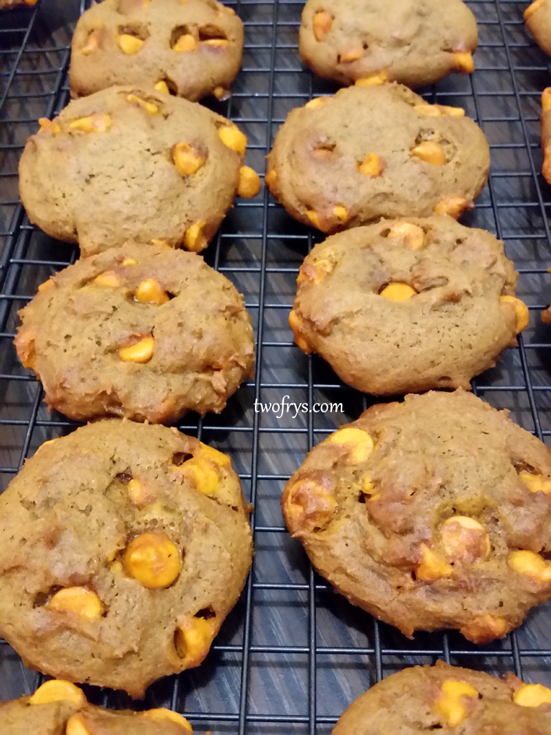 Two Frys: Pumpkin Spice Molasses Cookies