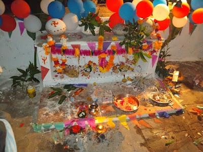 दिनारा में केवट समाज ने देवना बाबा मंदिर पर  कराया विशाल भंडारे का आयोजन | Dinara News