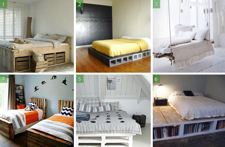 15 ideas para crear tu propia cama personalizada ~ DIY Latino