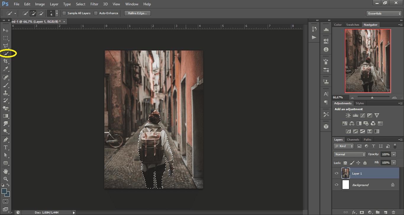 Tutorial Cara Membuat Blur Background Foto Dengan Adobe ...
