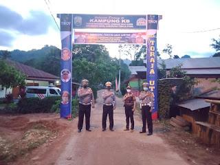 Lembang Salu Sarre Wakili Toraja Utara dalam Lomba Kampung Tertib Lalu Lintas tingkat Polda Sulsel