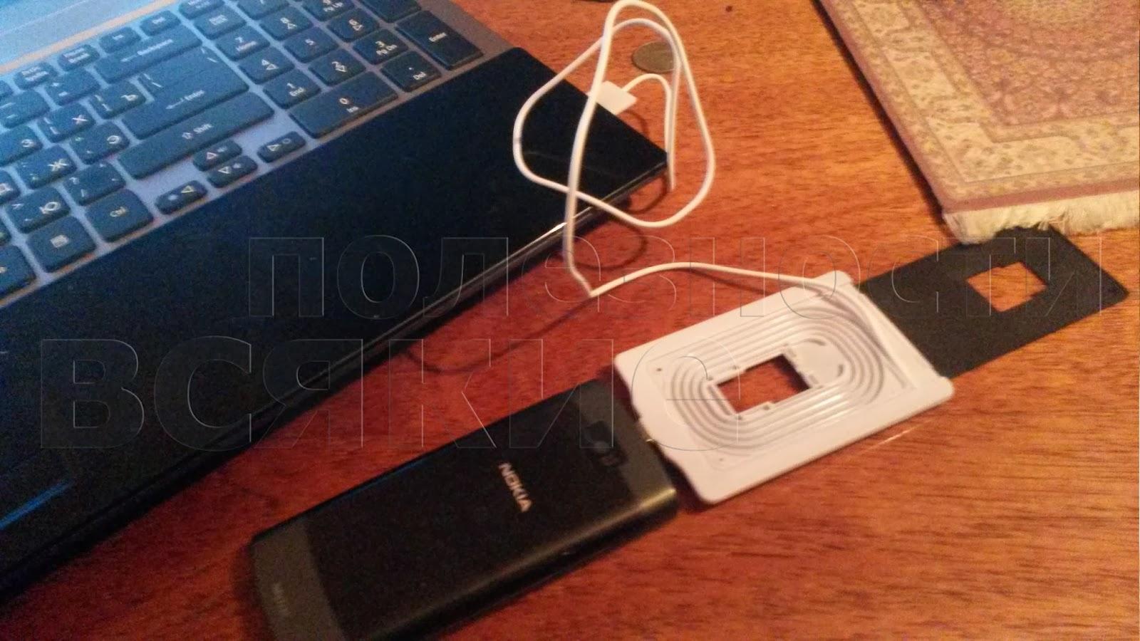 схема подключения кабеля USB - micri USB к телефону нокиа