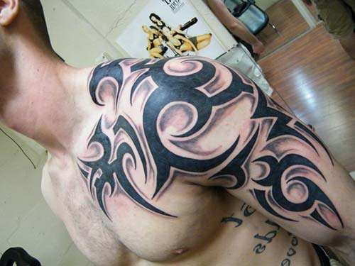 erkek tribal dövmeler man tribal tattoos 20