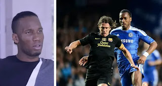 Didier Drogba name Carles Puyol in his top 3 of toughest defenders he ever faced