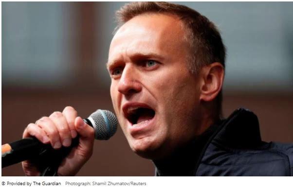 German doctors say Alexei Navalny is improving