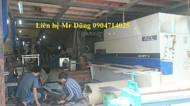 Xưởng cơ khí inox Trung Thành