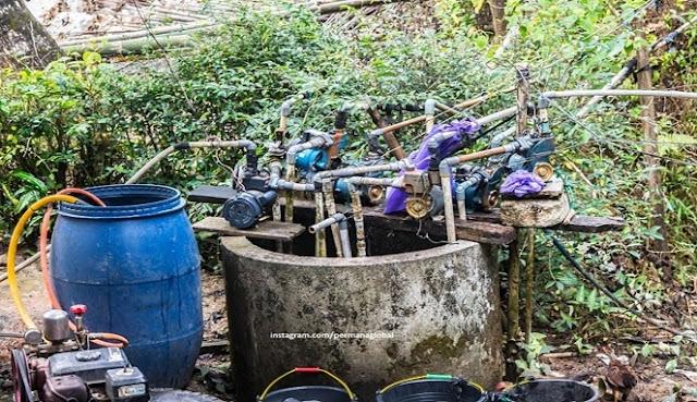 Satu Sumur dengan Lebih dari 5 Mesin Penyedot Air, Heran atau malah Miris?