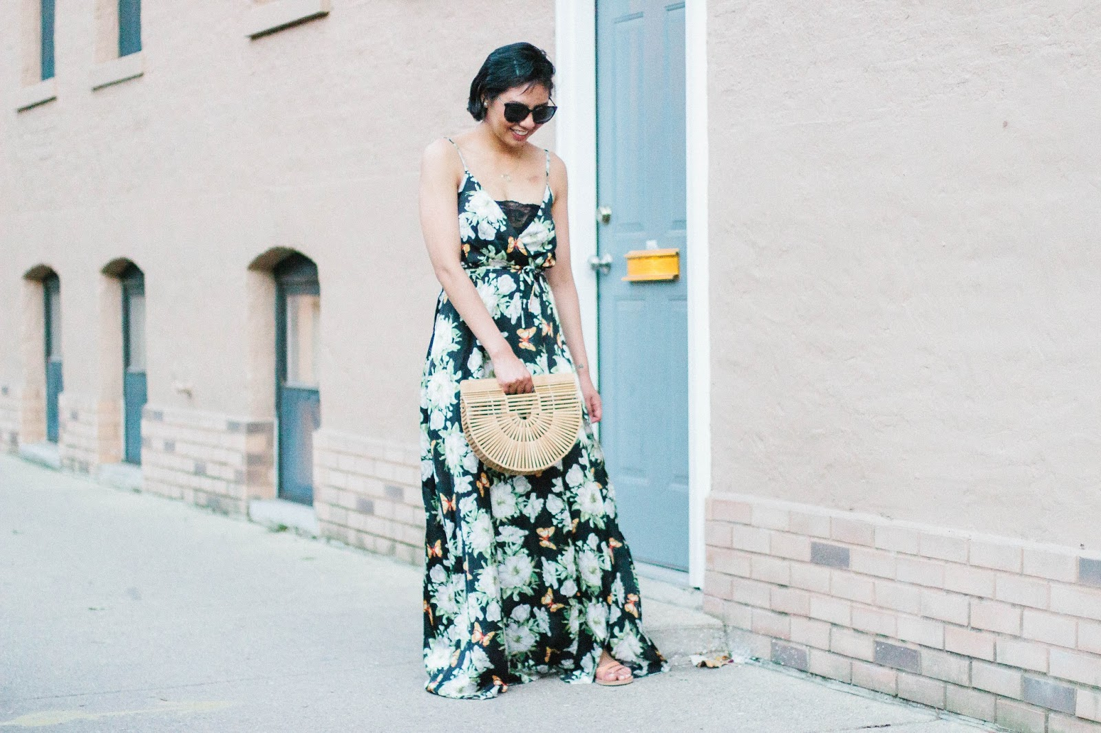 My Trick to Wearing a Low-Cut Dress