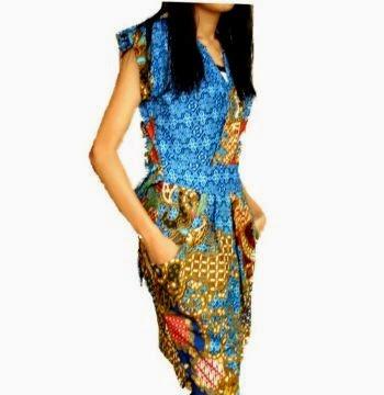 Model baju batik wanita, batik wanita modern