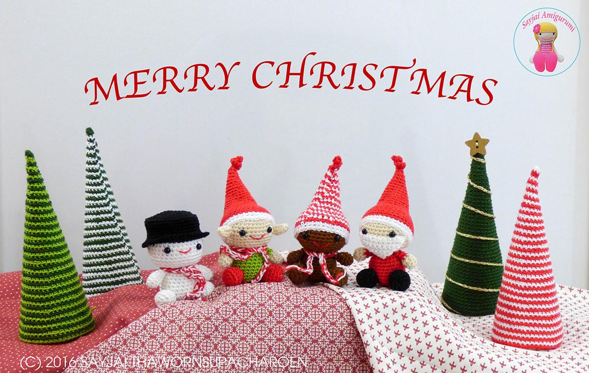 Kerst Amigurumi Een Nieuw Haakpatroon Voor Kerstmis Amigurumi