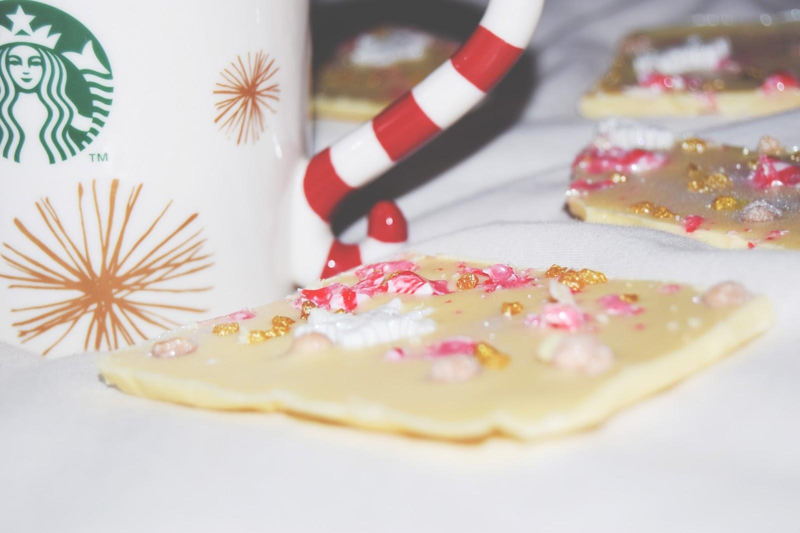 christmas chocolate bark peppermint