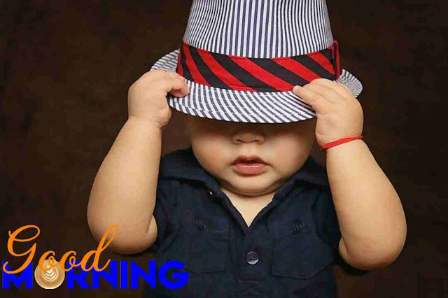good morning image of cute baby