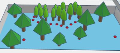 create trees