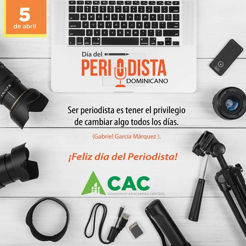 Consorcio Azucarero Central -CAC- felicita a periodistas en su día