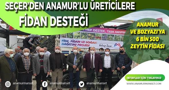 Anamur Haber,Anamur Son Dakika,CHP ANAMUR,Durmuş Deniz,Mersin Büyük Şehir Belediyesi,Vahap Seçer,