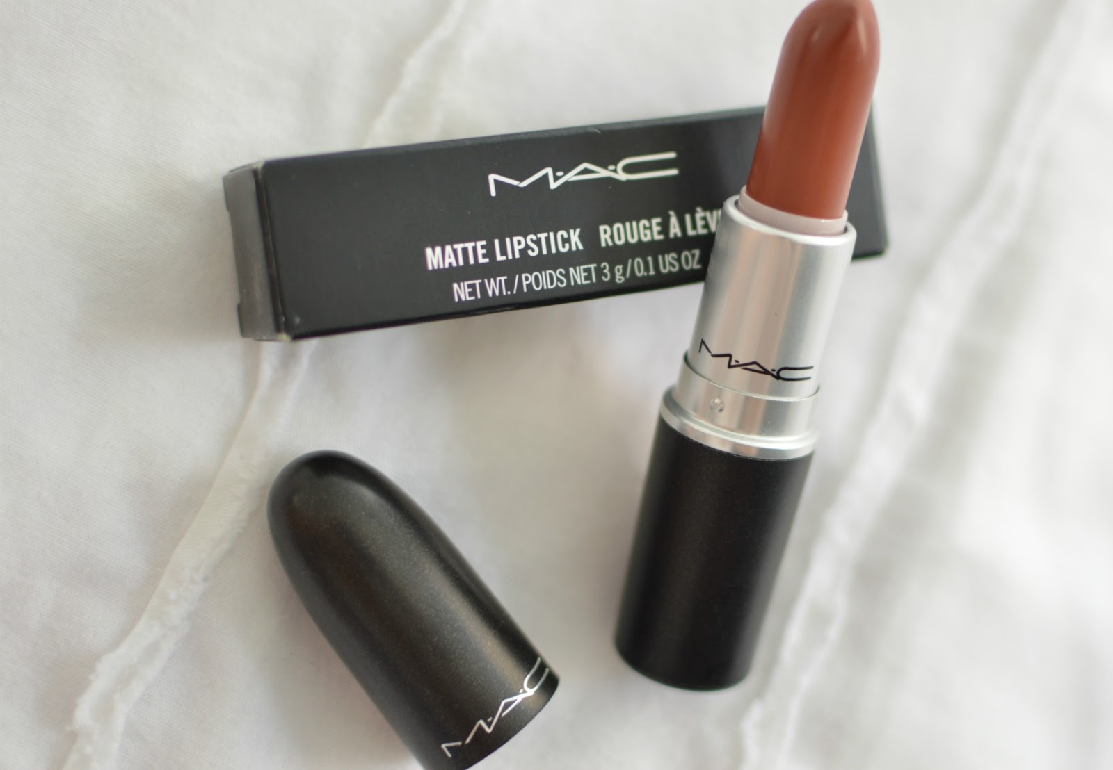 MAC Taupe Matte Lipstick Review
