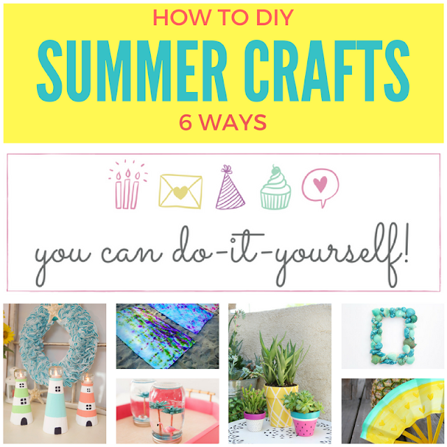 6 fun summer DIY projects
