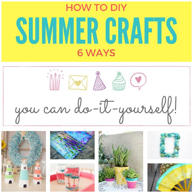 6 fun summer DIY projects