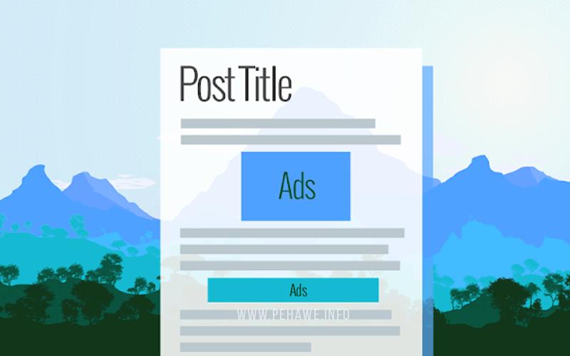 Memasang Iklan Adsense Di Dalam Postingan Valid AMP