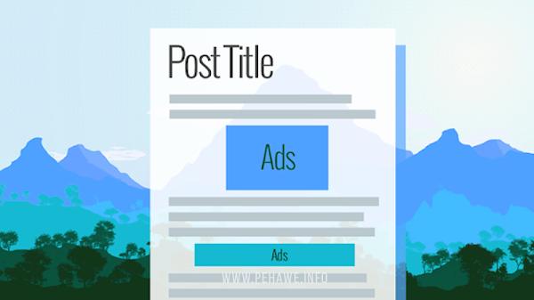 Membuat Iklan Adsense Di Dalam Postingan Dengan Pemanggil Menggunakan Javascript
