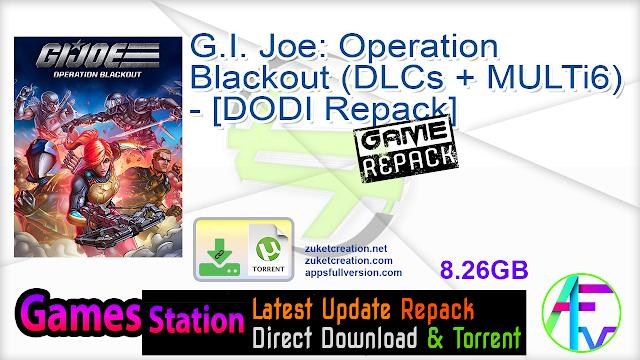 G.I. Joe Operation Blackout (DLCs + MULTi6) – [DODI Repack]