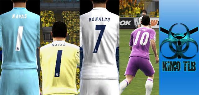 PES 2013 Real Madrid Kit Season 2016-2017