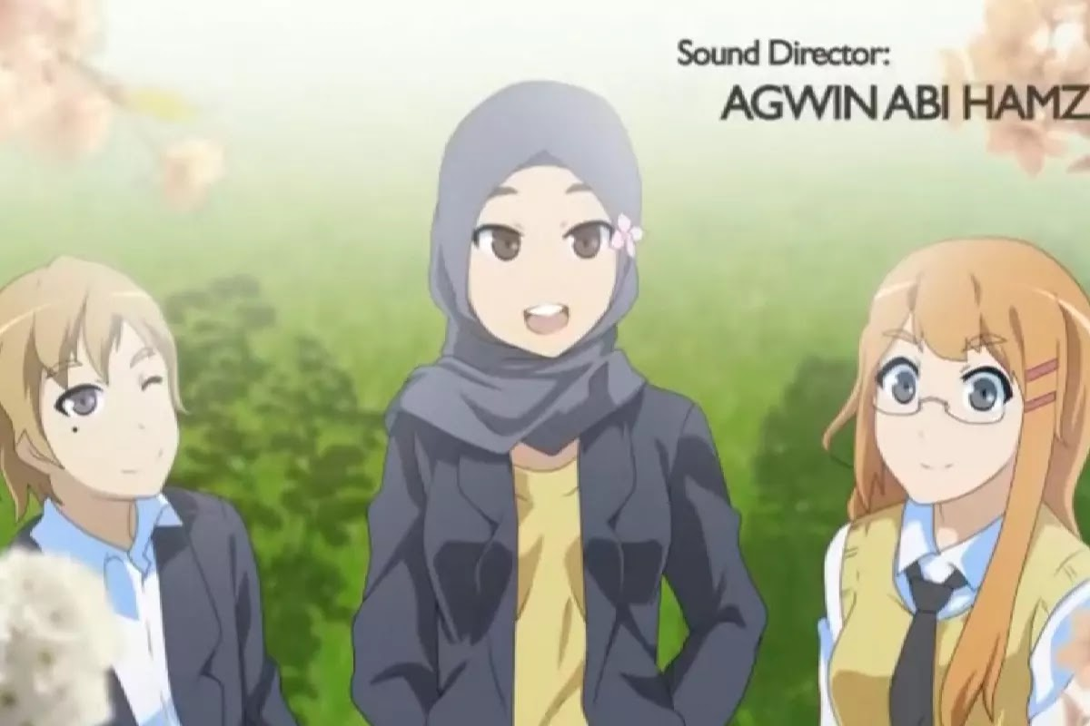 Viral! Nonton Anime Ngampus Menuju Impian 1