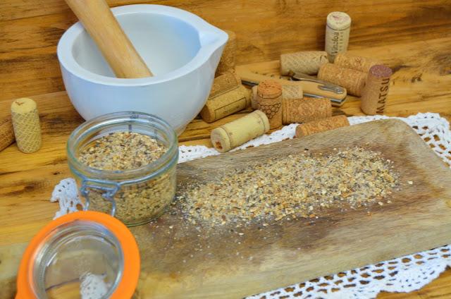Las delicias de Mayte, recetas saludables, recetas, receta, sal gorda setas, recetas de comida, como hacer sal de setas, recetas de cocina, sal de setas,