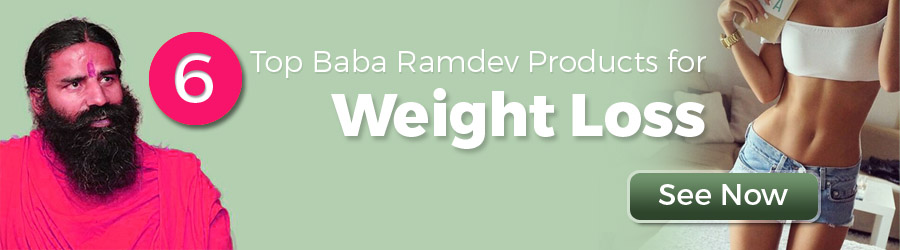 Baba Ramdev weight loss products & medicines - Tipsmonk