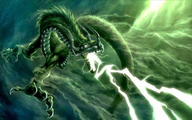 Gambar Animasi Naga Keren