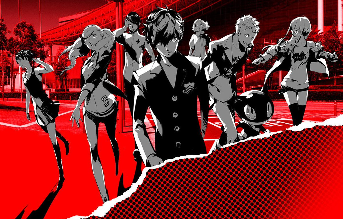 PERSONA 5 (USA+EUR) PS3 PKG ISO Cover