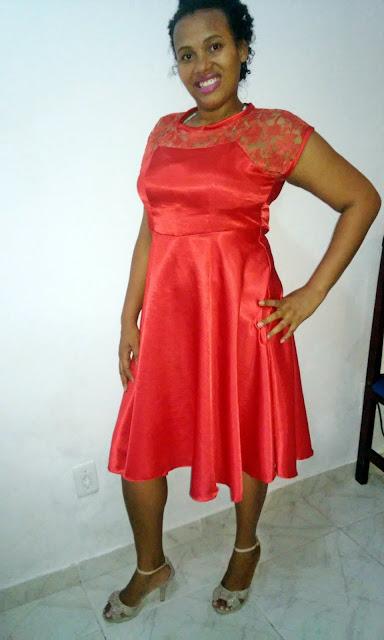 Look do dia: Vestido vermelho