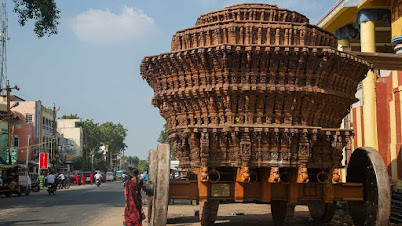चिदंबरम मंदिर लाकडी रथ (तामिळनाडू)